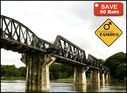 River Kwai Bridge with Death Railway Tour