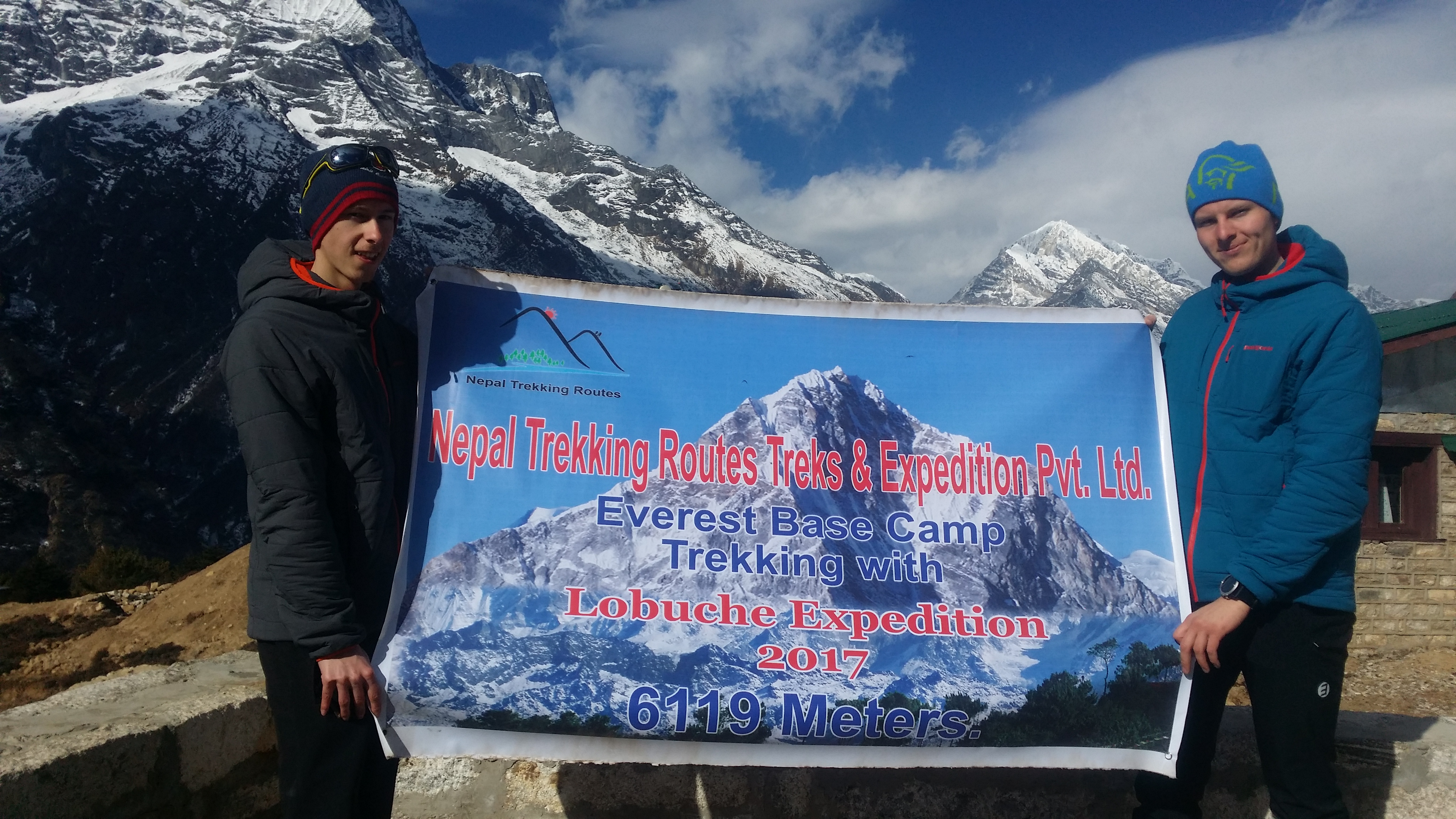 Lobuche Peak climbing with Everest base camp trek