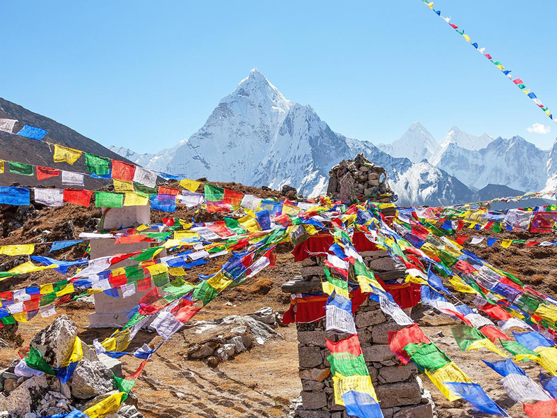 Everest base camp treks in Nepal