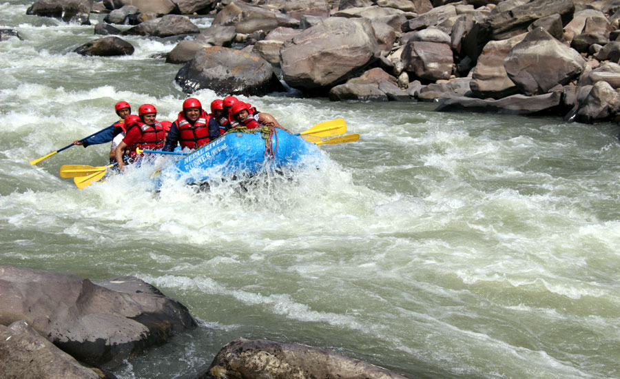Bhote Koshi White Water Rafting and Kayaking